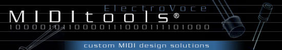 MIDITools - custom MIDI design solutions